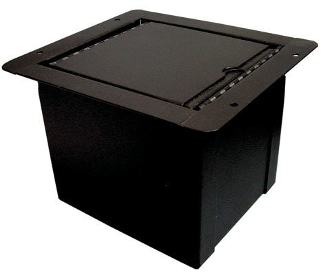 View larger image of Rapco POCKETMINI-HOLE Mini Floor Box - 3 Hole Traditional Lid
