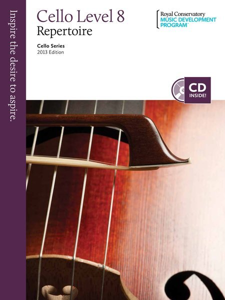View larger image of RCM Cello Series 2013 Edition: Cello Repertoire 8