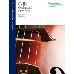 RCM Cello Series 2013 Edition: Orchestral Excerpts