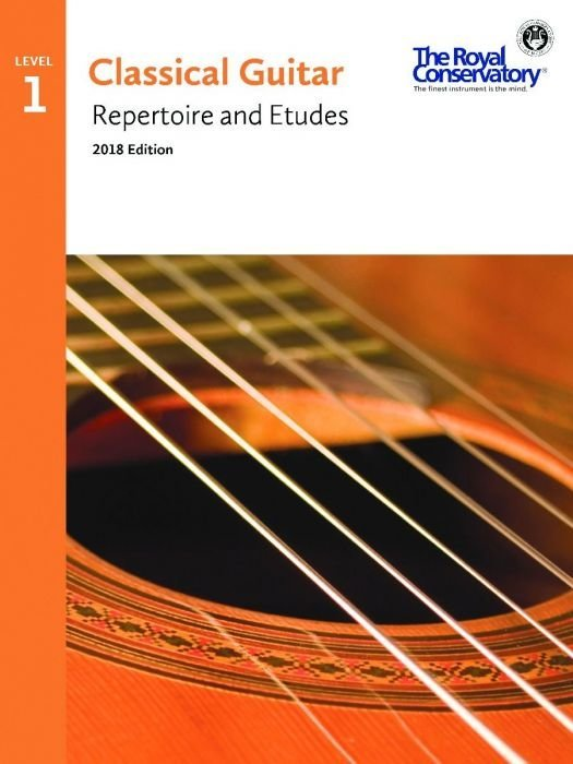 View larger image of RCM Classical Guitar Repertoire and Etudes - Level 1 (2018 Edition)