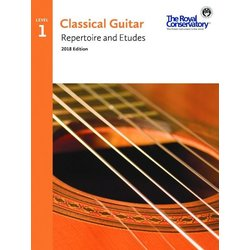 RCM Classical Guitar Repertoire and Etudes - Level 1 (2018 Edition)