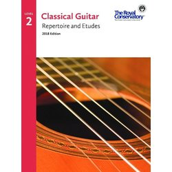 RCM Classical Guitar Repertoire and Etudes - Level 2 (2018 Edition)