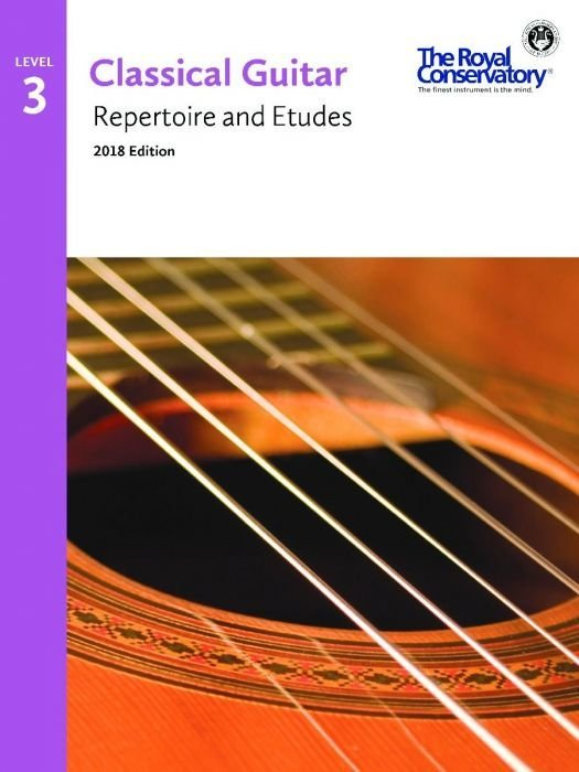 View larger image of RCM Classical Guitar Repertoire and Etudes - Level 3 (2018 Edition)