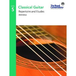 RCM Classical Guitar Repertoire and Etudes - Level 5 (2018 Edition)