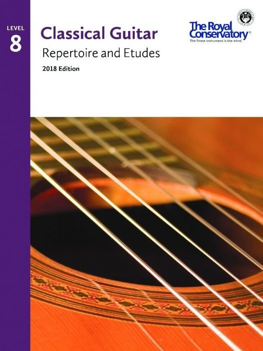 View larger image of RCM Classical Guitar Repertoire and Etudes - Level 8 (2018 Edition)