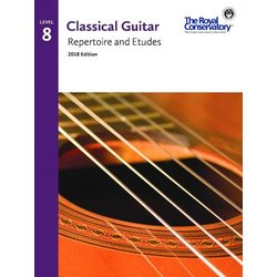 RCM Classical Guitar Repertoire and Etudes - Level 8 (2018 Edition)