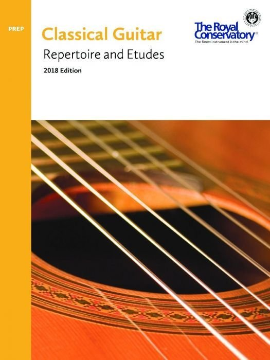 View larger image of RCM Classical Guitar Series - Preparatory Repertoire and Etudes (2018 Edition)