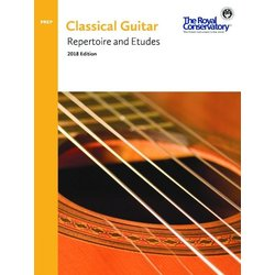 RCM Classical Guitar Series - Preparatory Repertoire and Etudes (2018 Edition)