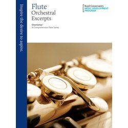 RCM Overtones: A Comprehensive Flute Series - Orchestral Excerpts