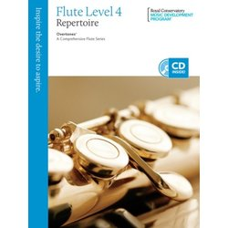RCM Overtones: A Comprehensive Flute Series - Repertoire 4
