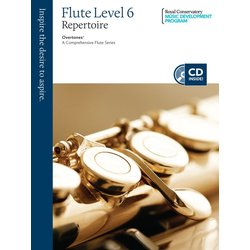 RCM Overtones: A Comprehensive Flute Series - Repertoire 6 (Book/CD)