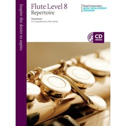 RCM Overtones: A Comprehensive Flute Series - Repertoire 8