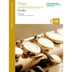RCM Overtones: A Comprehensive Flute Series - Studies Prepartory - 4