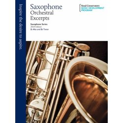 RCM Saxophone Series 2014 Edition - Orchestral Excerpts