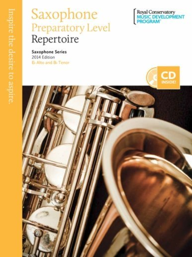 View larger image of RCM Saxophone Series 2014 Edition - Preperatory Repertoire