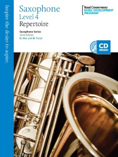 View larger image of RCM Saxophone Series 2014 Edition - Repertoire 4