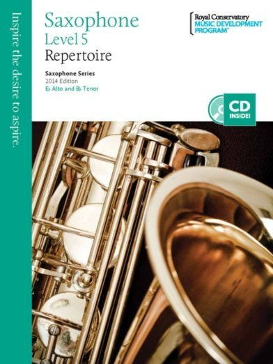 View larger image of RCM Saxophone Series 2014 Edition - Repertoire 5
