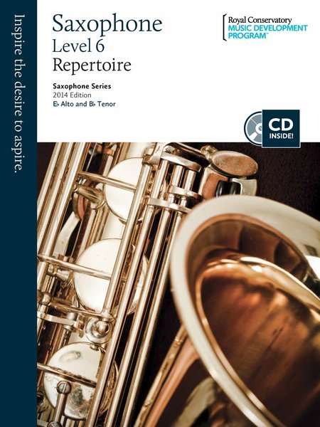 View larger image of RCM Saxophone Series 2014 Edition - Repertoire 6