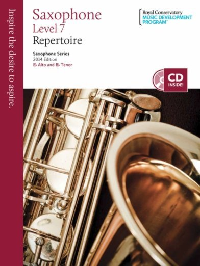 View larger image of RCM Saxophone Series 2014 Edition - Repertoire 7