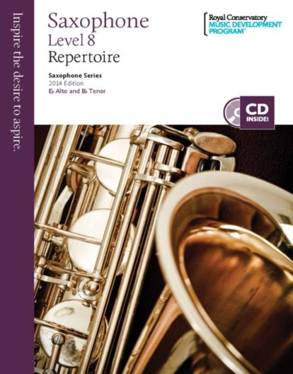 View larger image of RCM Saxophone Series 2014 Edition - Repertoire 8