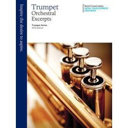 RCM Trumpet Series, 2013 Edition - Orchestral Excerpts