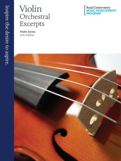 View larger image of RCM Violin Series, 2013 Edition - Violin Orchestral Excerpts