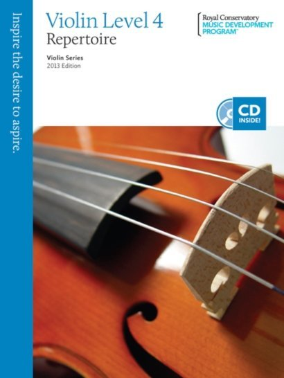 View larger image of RCM Violin Series, 2013 Edition - Violin Repertoire 4
