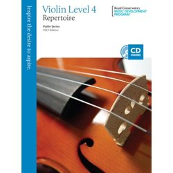 RCM Violin Series, 2013 Edition - Violin Repertoire 4