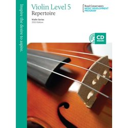 RCM Violin Series, 2013 Edition - Violin Repertoire 5