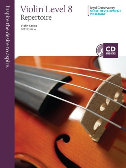 View larger image of RCM Violin Series, 2013 Edition - Violin Repertoire 8