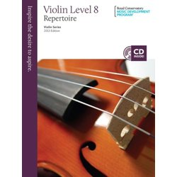 RCM Violin Series, 2013 Edition - Violin Repertoire 8