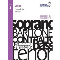 RCM Voice 2019 - Level 3 Repertoire w/OA