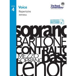 RCM Voice 2019 - Level 4 Repertoire w/OA