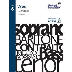 RCM Voice 2019 - Level 6 Repertoire w/OA