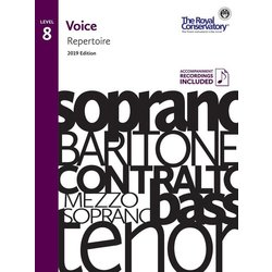 RCM Voice 2019 - Level 8 Repertoire w/OA