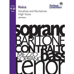 RCM Voice 2019 - Vocalises and Recitatives 9-10 (High)
