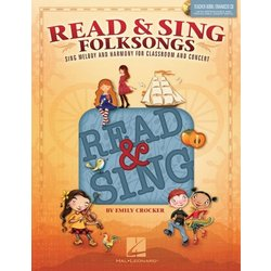 Read & Sing Folksongs - Teacher Book w/ Enhanced CD