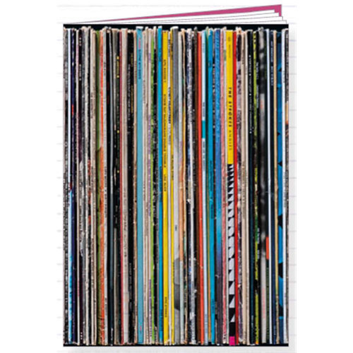 View larger image of Record Spine Notebook
