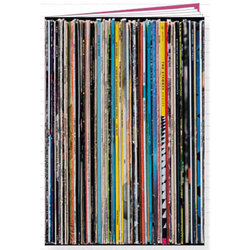 Record Spine Notebook