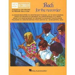 Recorder Bach for Recorder