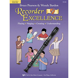 Recorder Excellence - Student Book