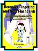 View larger image of Recorder Fingering & Note Flashcards