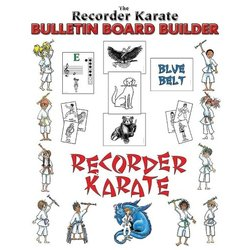 Recorder Karate Bulletin Board Builder Kit