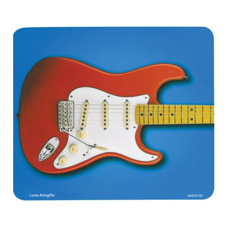View larger image of Red Electric Guitar Mouse Pad