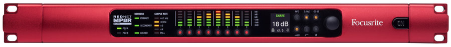 View larger image of RedNet MP8R 8-Channel Remote Microphone Preamp