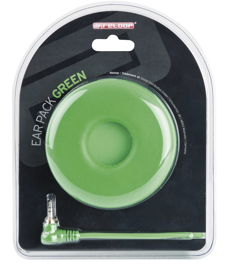 View larger image of Reloop Ear Pack/Replacement Wire - Curled Green