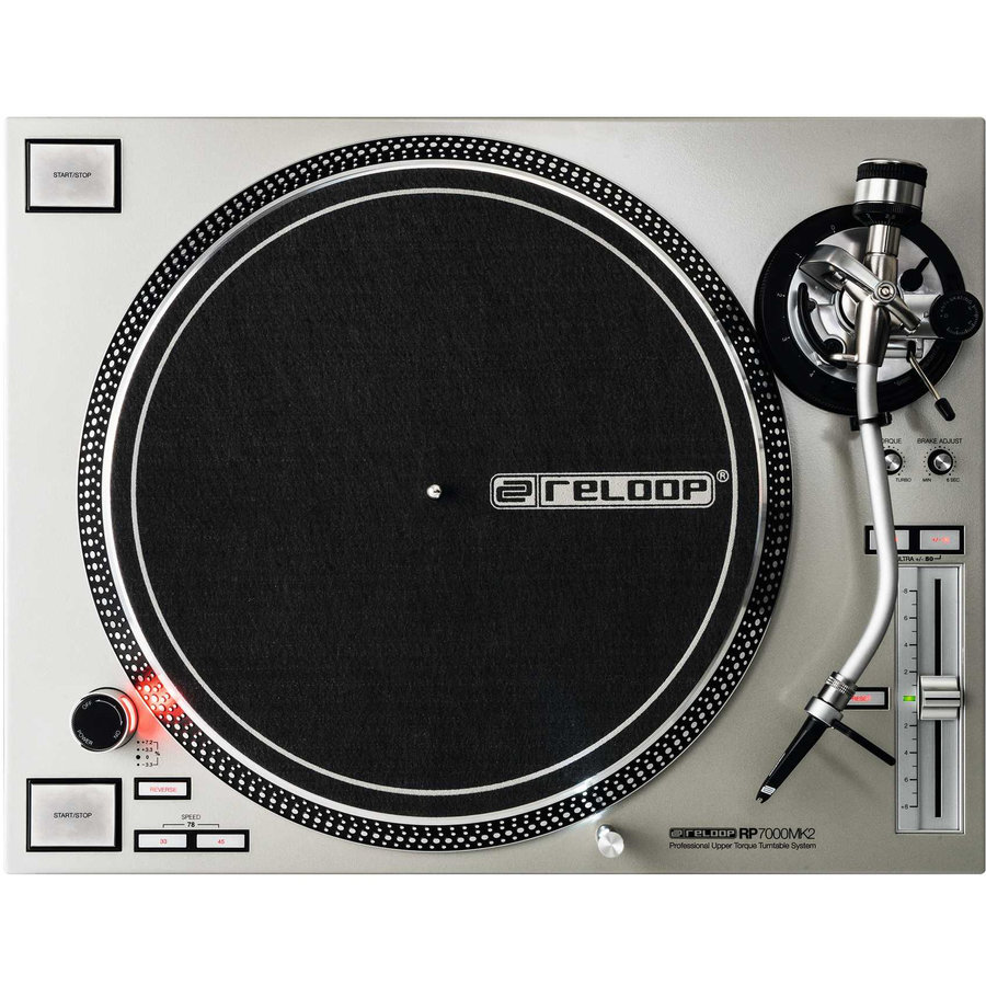 View larger image of Reloop RP-7000 MK2 Turntable - Silver