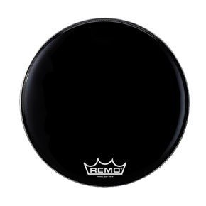 View larger image of Remo 28 Powermax 2 Ebony Bass Drum Head