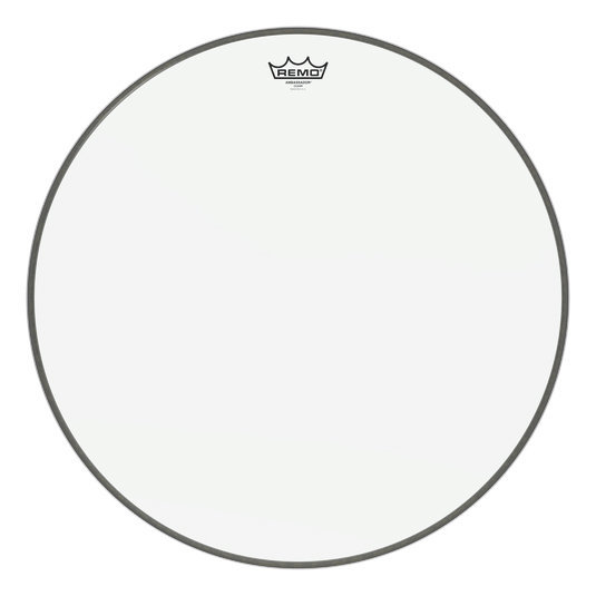 View larger image of Remo Ambassador Clear Bass Drumhead - 22