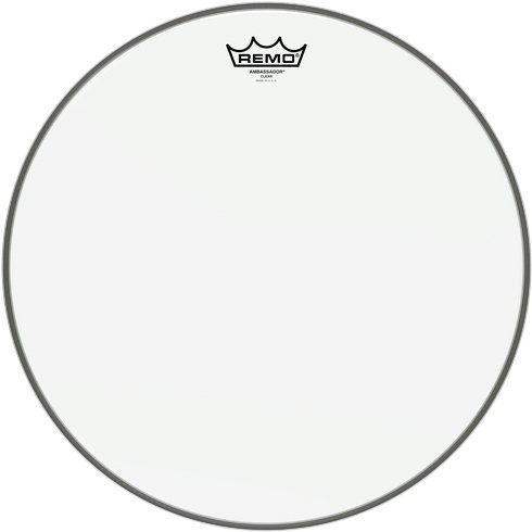 View larger image of Remo Ambassador Clear Drumhead - 17